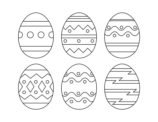 Easter Egg Template Printable « funnycrafts