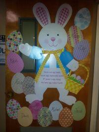 easter preschool doors (2)  funnycrafts