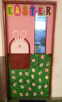 easter school door decoration for preschool (5 ...