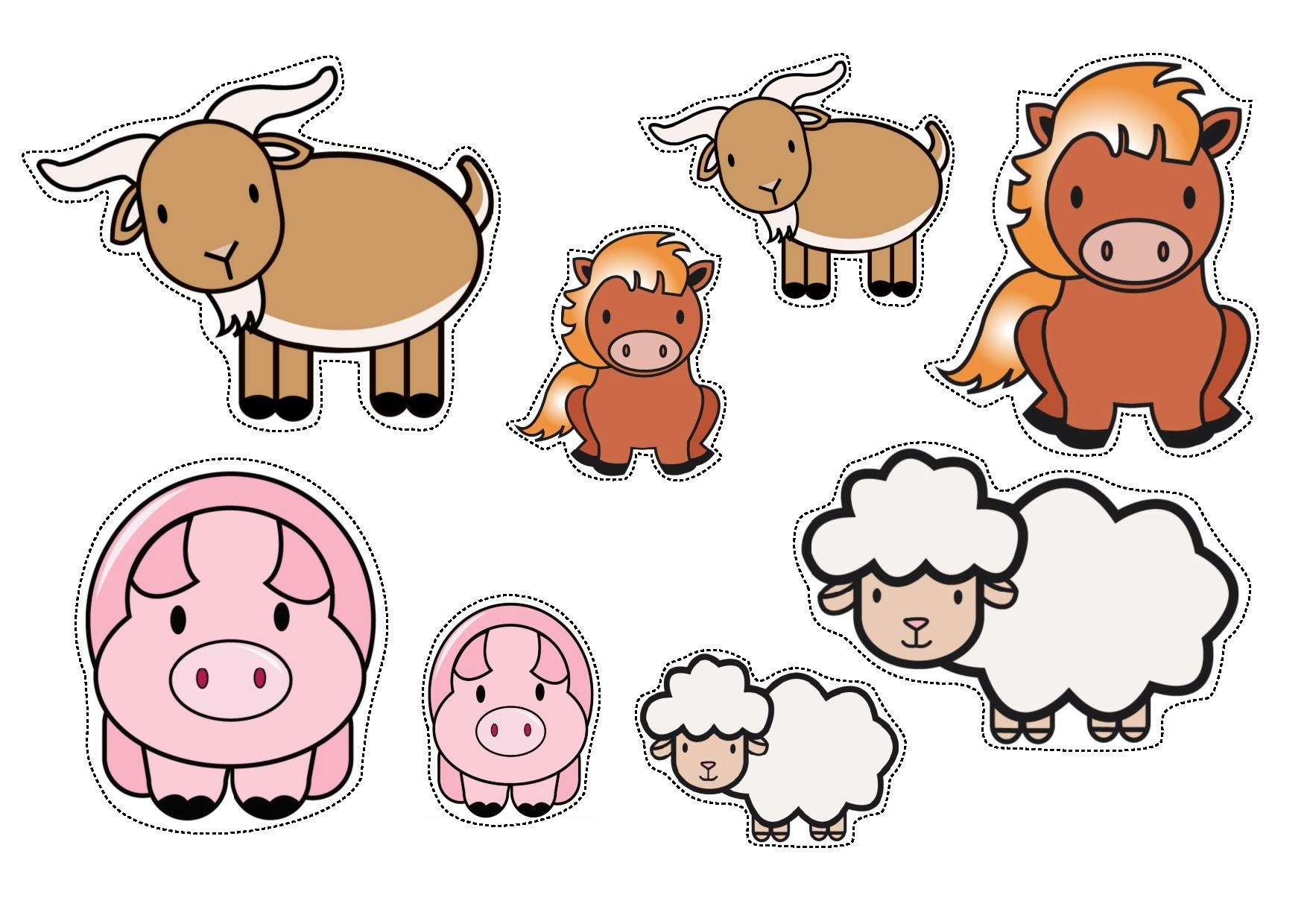 Barn And Farm Animal Worksheet Preschool