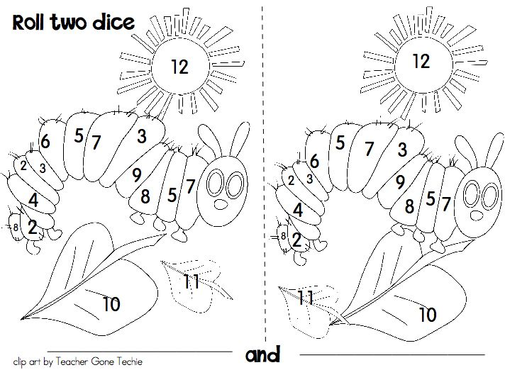 hungry caterpillar coloring « Preschool and Homeschool
