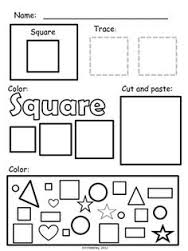learning square worksheets (5) « Preschool and Homeschool