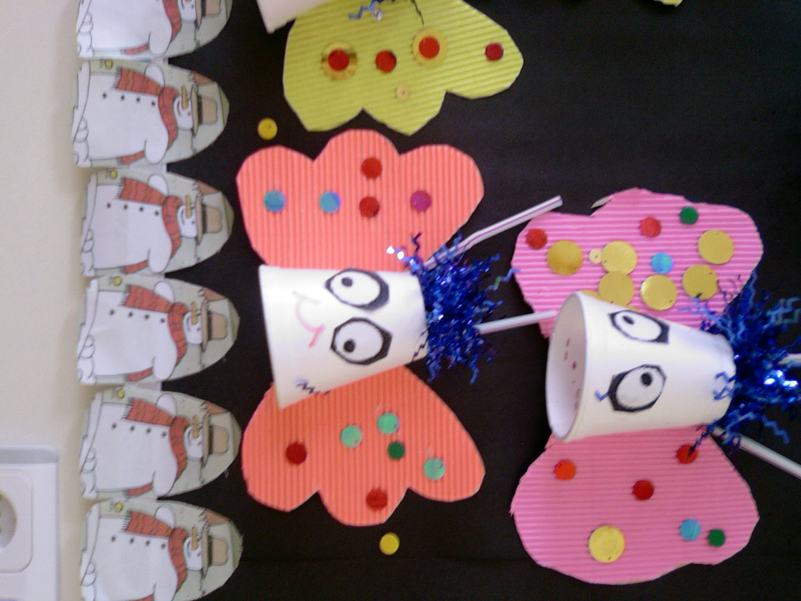 Paper Cup Butterfly Crafts Preschool And Homeschool