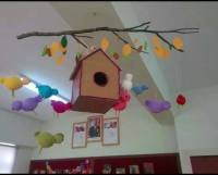 spring classroom door decorations preschool (1)  funnycrafts