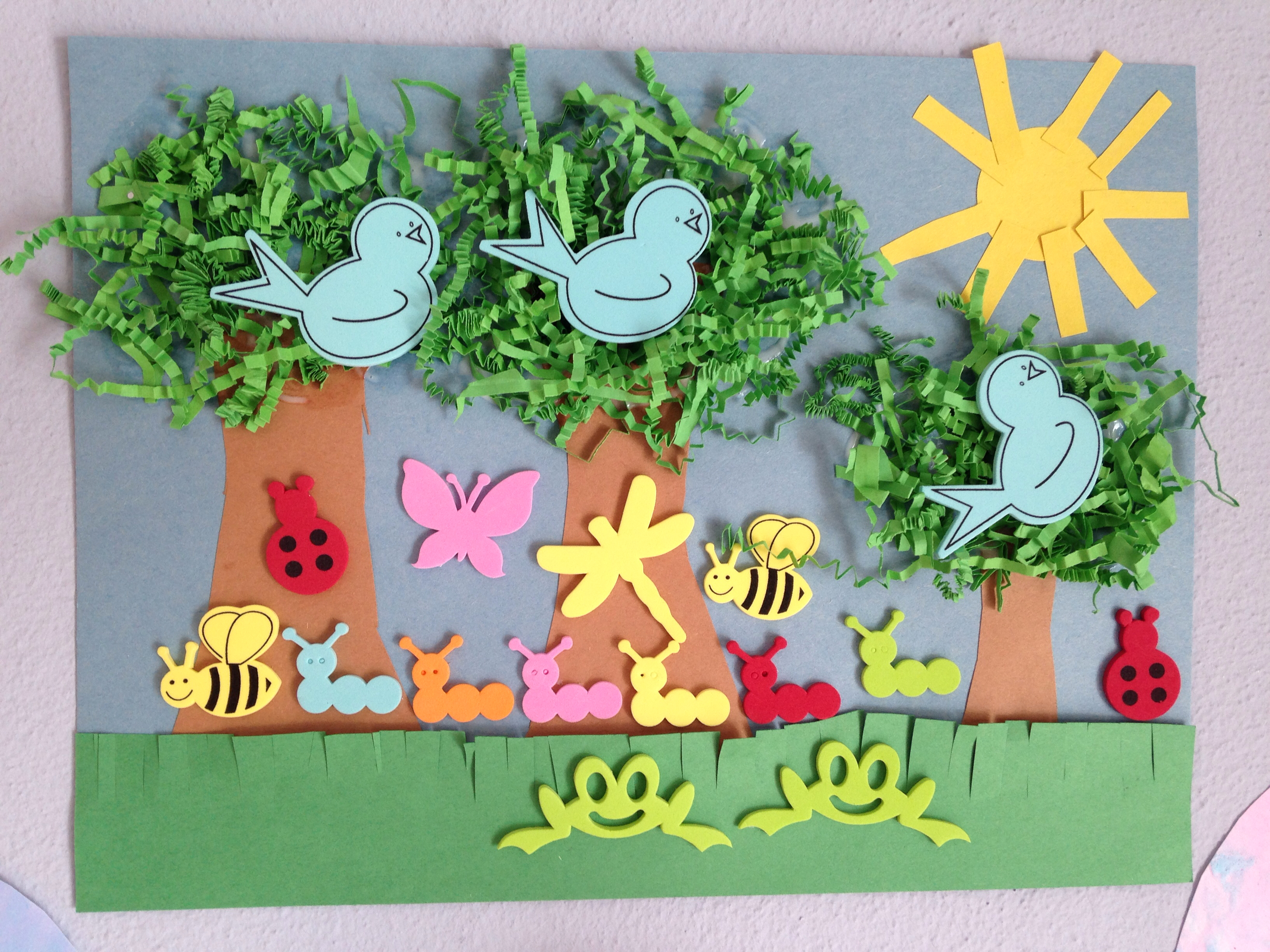 Spring Paper Crafts Preschool And Homeschool