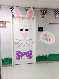 top easter classroom door decorations ideas (3)  funnycrafts