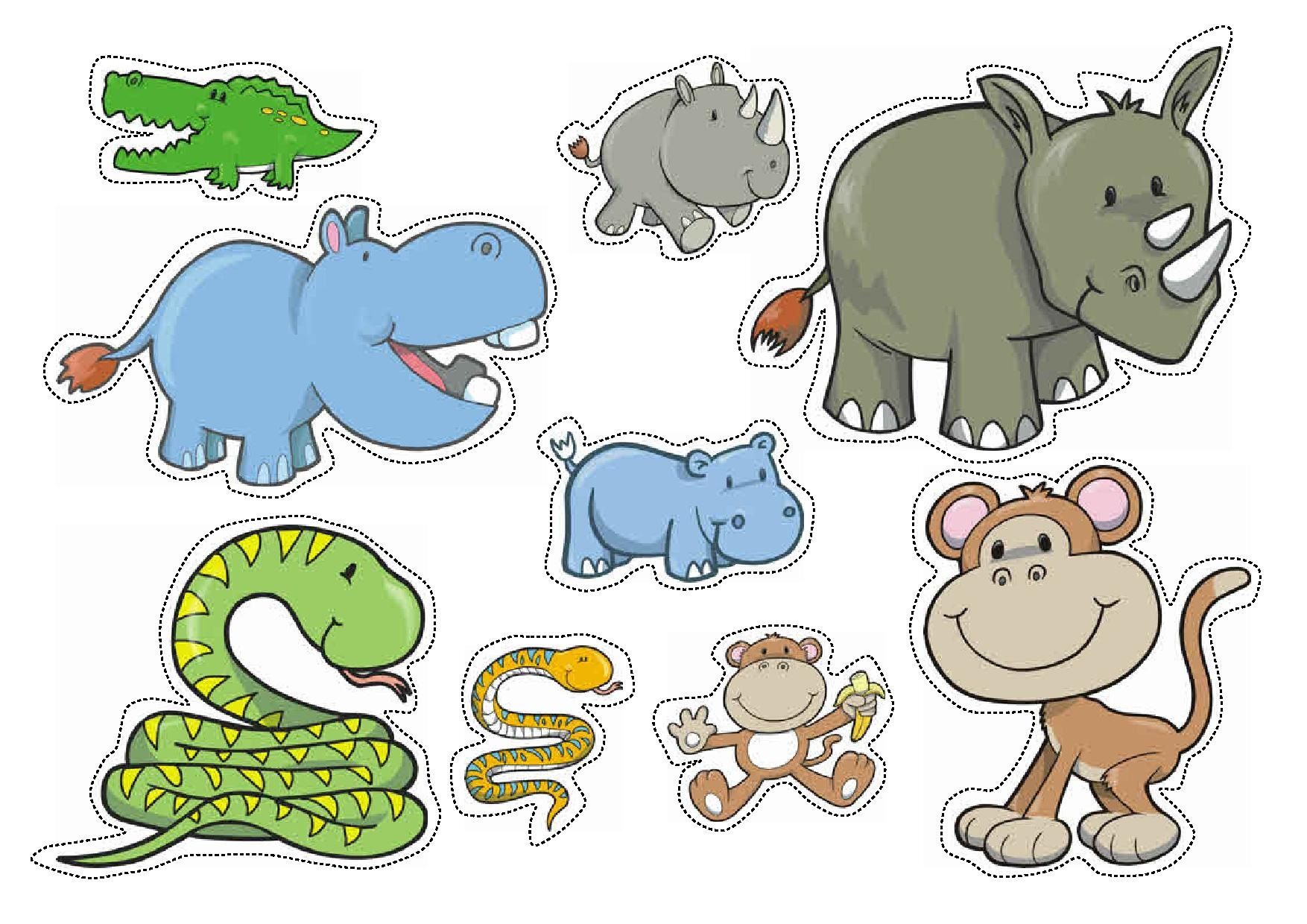 Wild Animals Sorting By Size Worksheets For Preschool Preschool And Homeschool