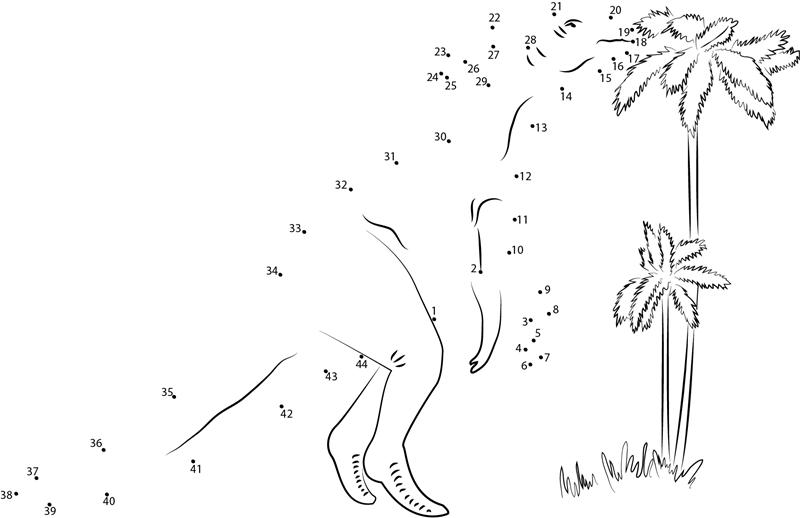 dinosaur-dot-to-dot-activities « funnycrafts