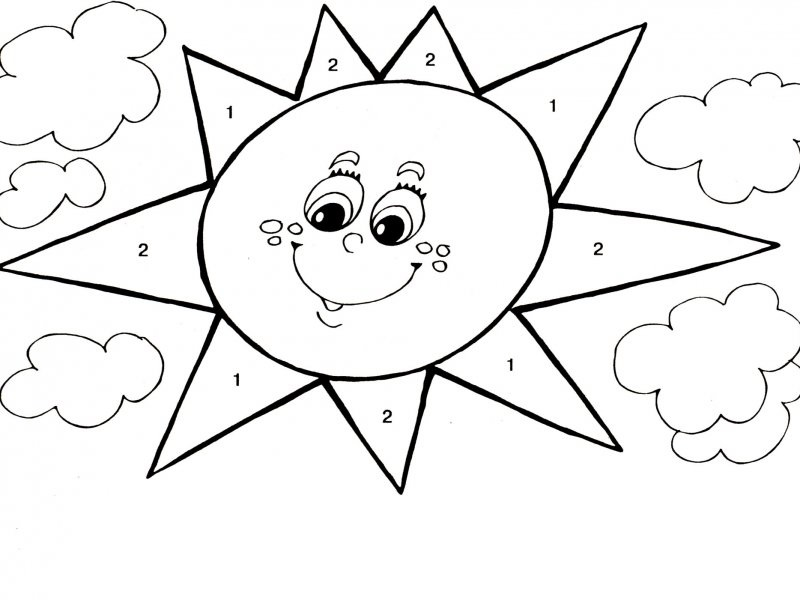 orange learning coloring pages (5) « Preschool and Homeschool