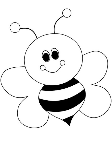 spring bee coloring pages (29) « Preschool and Homeschool