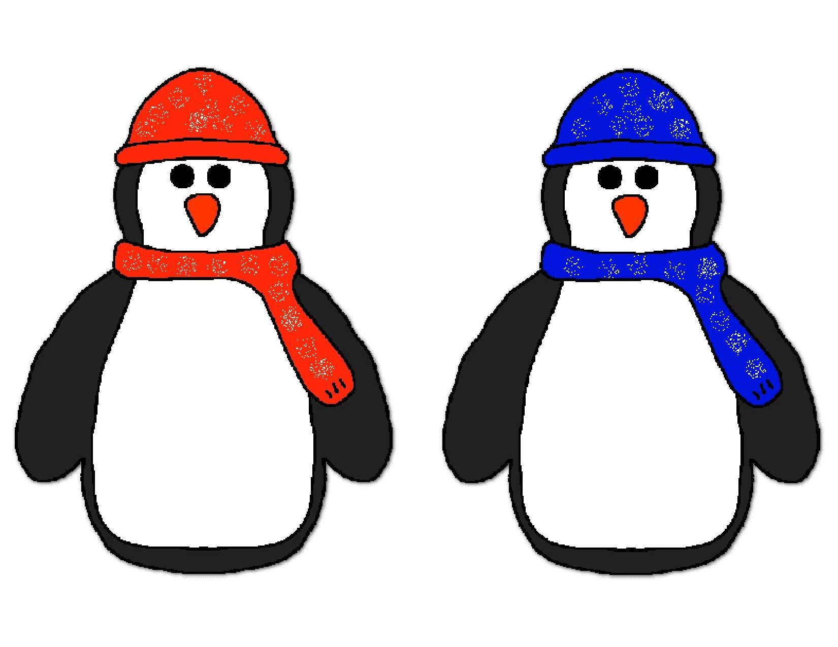 Penguin Pompom Match Activities Preschool And Homeschool