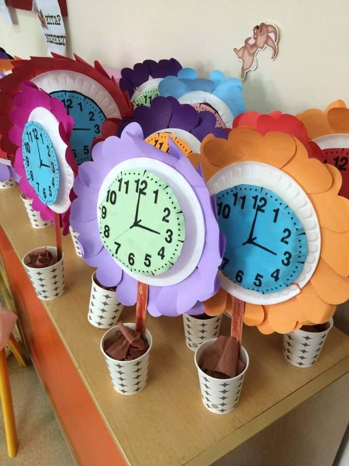 Recycled Clock Craft Preschool And Homeschool
