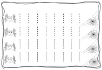 Vertical tracing line sheets (10)  Preschool and Homeschool