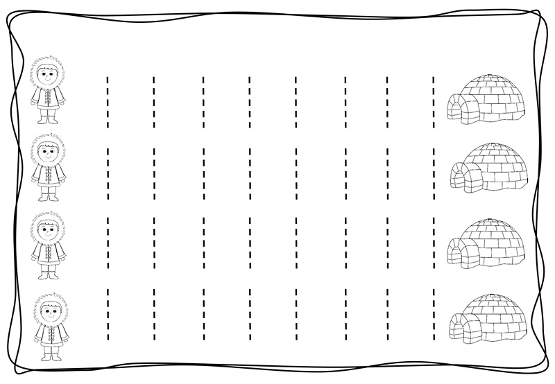Vertical tracing line sheets (11) « Preschool and Homeschool