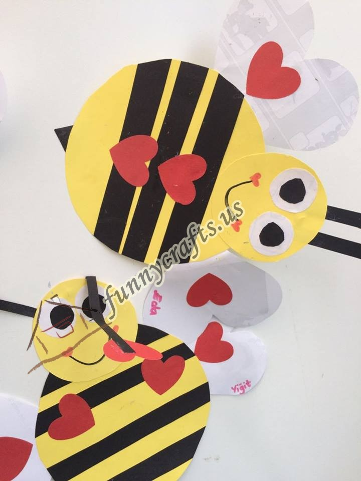 Bee Craft Idea For Kids Funny Crafts