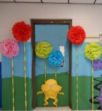 door decoration idea for preschoolers (1)  Preschool and