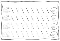 tracing diagonal lines free sheet (2)  Preschool and ...