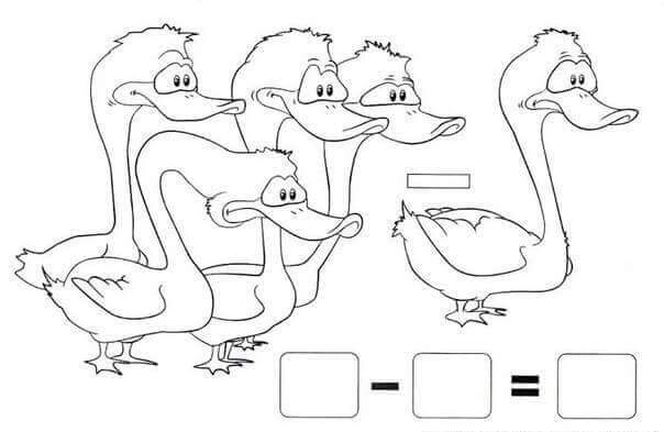 duck addition worksheet « Preschool and Homeschool