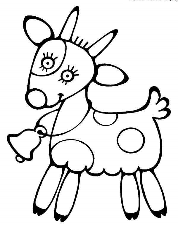 goat coloring pages « Preschool and Homeschool