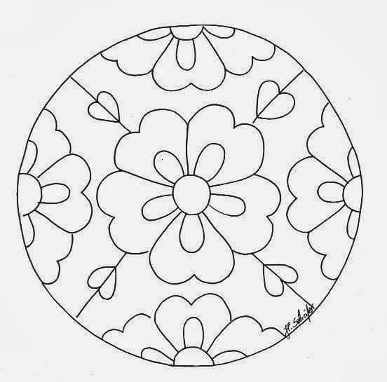 mandala coloring pages (4) « funnycrafts
