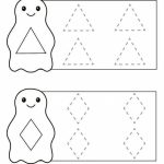 penguin shapes trace the lines sheet (5) « funnycrafts