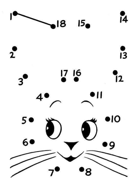 animals dot to dot sheet « funnycrafts