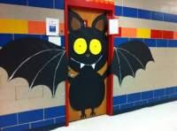 bat-halloween-door-decoration  Preschool and Homeschool