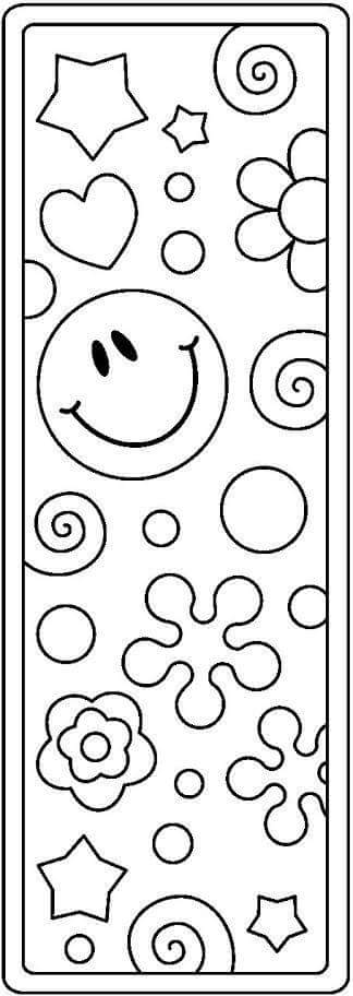 bookmark coloring pages (7) « funnycrafts