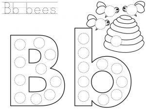 do-a-dot-letter-b-printable « Preschool and Homeschool