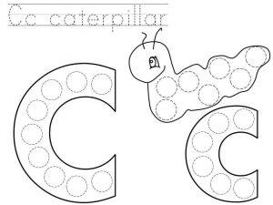 do-a-dot-letter-c-printable « Preschool and Homeschool