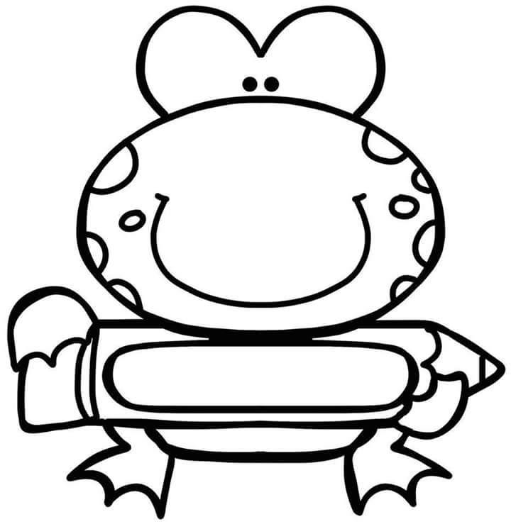 preschool-name-tag-with-frog-11 « Preschool and Homeschool