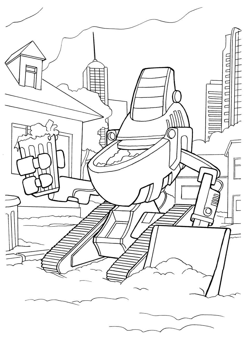 robot-coloring-pages-for-kids-14 « Preschool and Homeschool