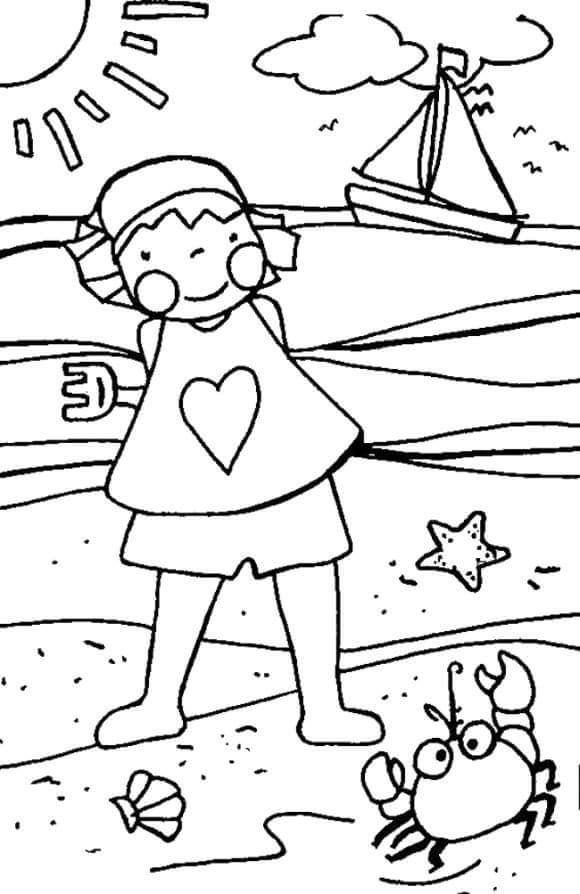 season-summer-coloring-pages-4 « Preschool and Homeschool