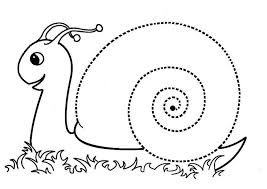 snail coloring pages (6) « Preschool and Homeschool