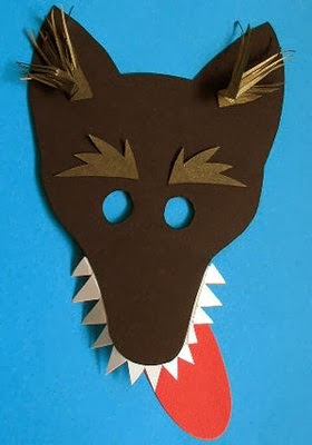 Wolf Mask Template Preschool And Homeschool