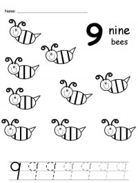 Free printable handwriting number sheets for children The ...