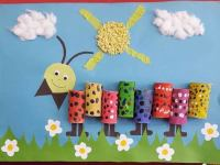 caterpillar-wall-decoration  Preschool and Homeschool