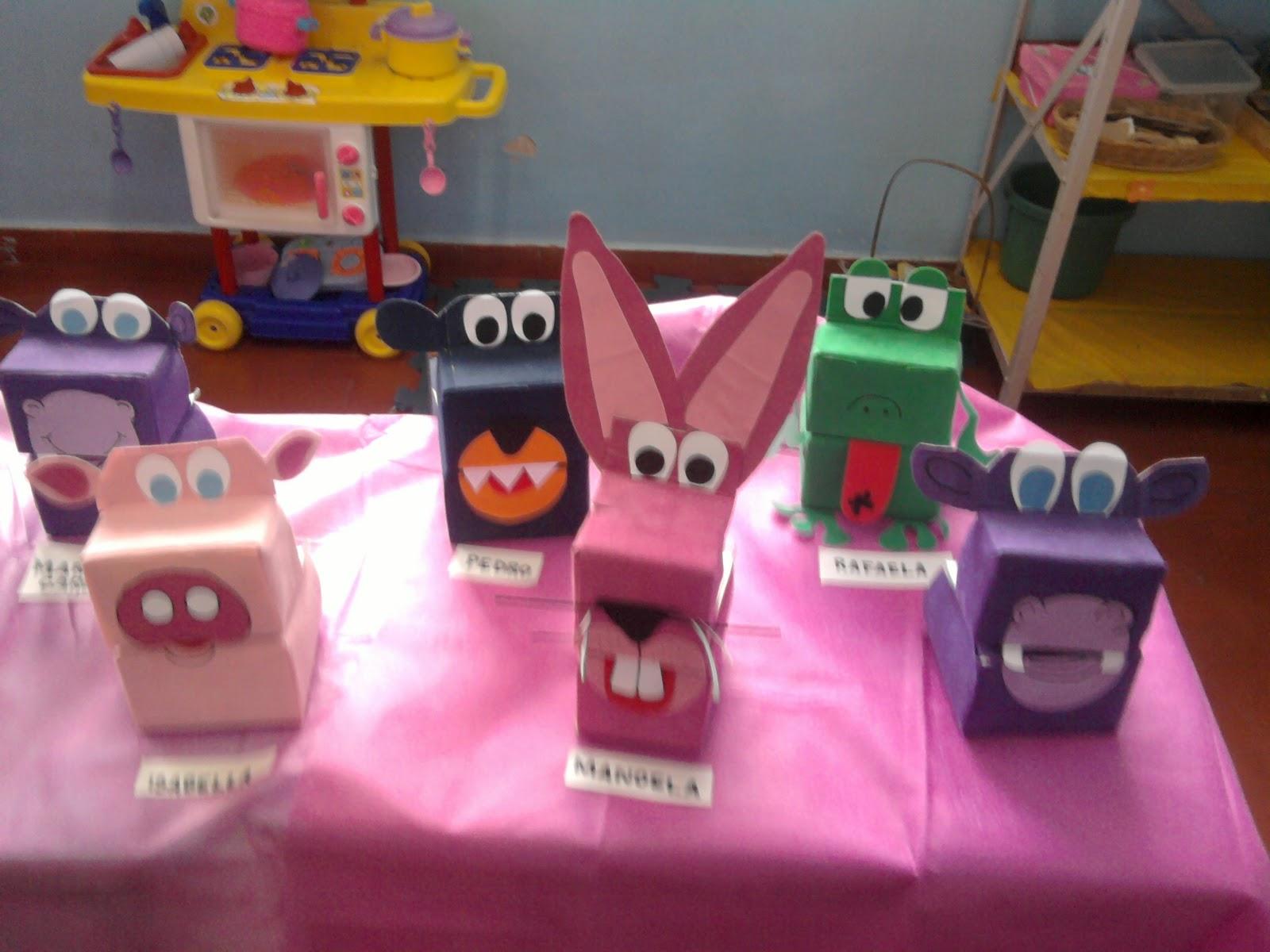 Creative Animal Puppets From Milk Bottles 2 Preschool