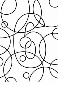 Creative number coloring pages