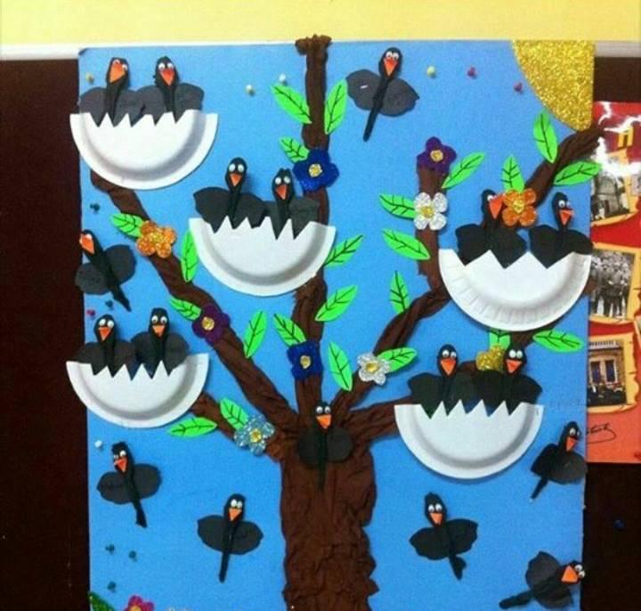 Bird Nest Craft For Preschool Funny Crafts