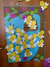 bee-door-decorations-for-kids-1  Preschool and Homeschool