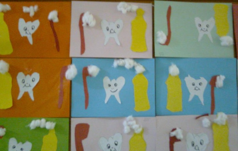 dental crafts for preschoolers