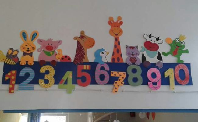 Numbers Classroom Decorations 6 Preschool And Homeschool