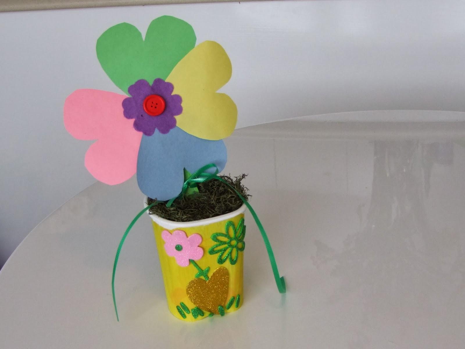 Teachers Day Flower Craft Ideas 2 Preschool And Homeschool