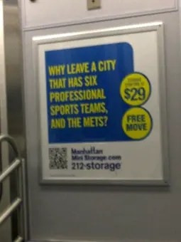 Why leave New York City?