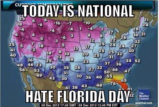 Today is National Hate Florida Day