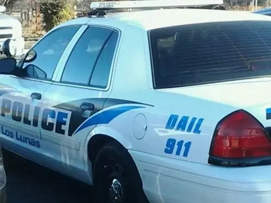 Police car with misspelled Dail 911 painted on it