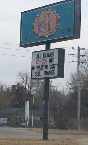 Oh wait, we don't sell frames
