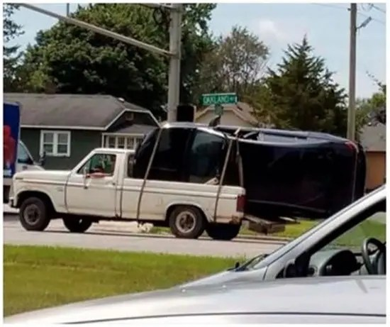 When tow trucks are just too expensive.