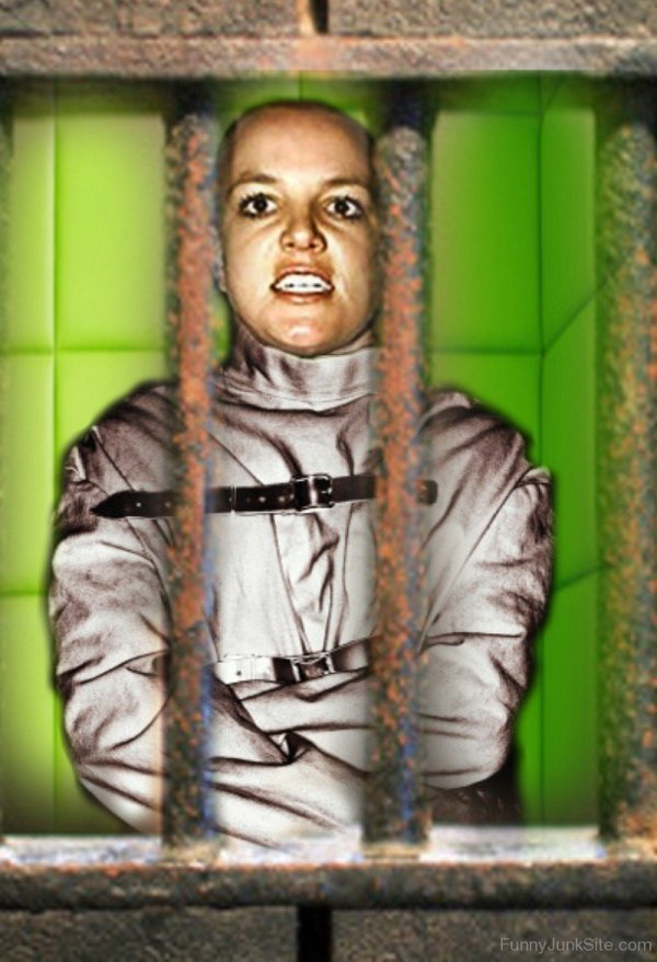 Funny Human Britney Spears In Jail